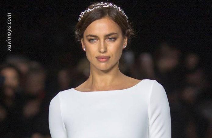 xavi moya foto video bridal show Irina Shayk