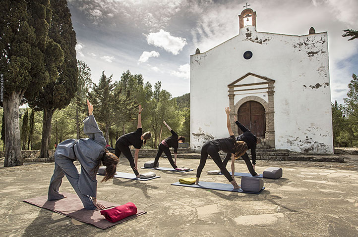xavi moya foto video yoga