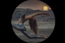 yoga sunset en menorca xavi moya